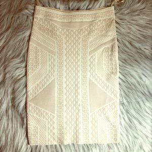 2c1832b6b BCBGMaxAzria Skirts - 💕BCBGMAXAZRIA Geometric Relief Jacquard Skirt💕
